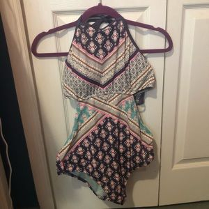 Victoria Secret one piece bathing suit size large